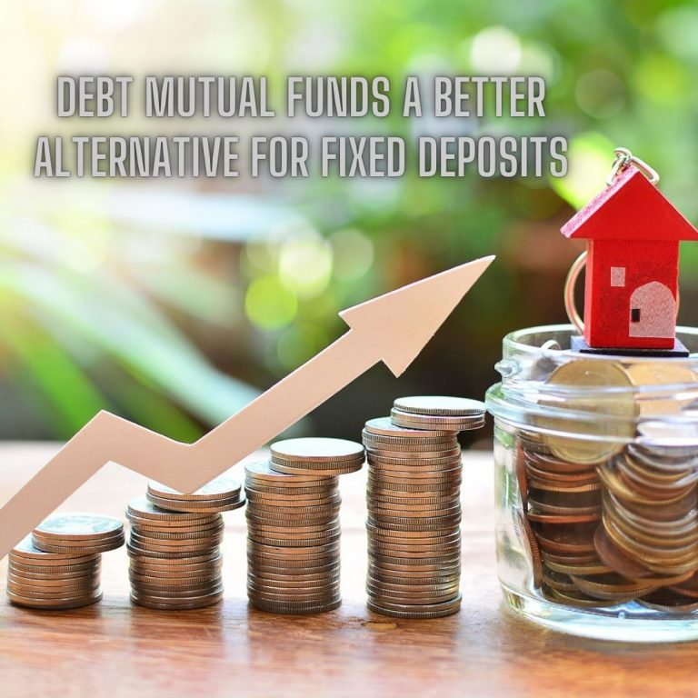 <p style='line-height:1.4; font-size:1.2em'>Are Debt Mutual Funds a Better Alternative For Fixed Deposits? </p>